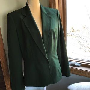 Anne Klein Dark Green Blazer